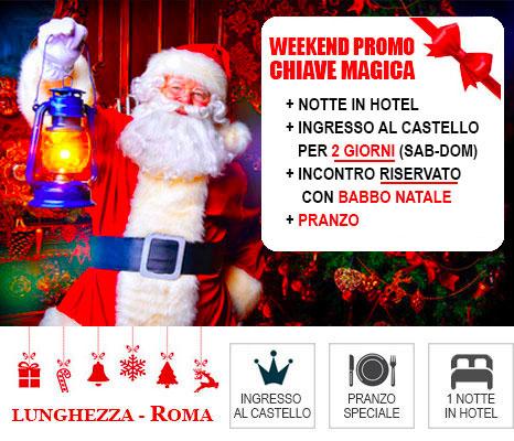 Babbo Natale 8 Dicembre Roma.Fantastico Castello Di Babbo Natale Roma Lunghezza Offerte Hotel